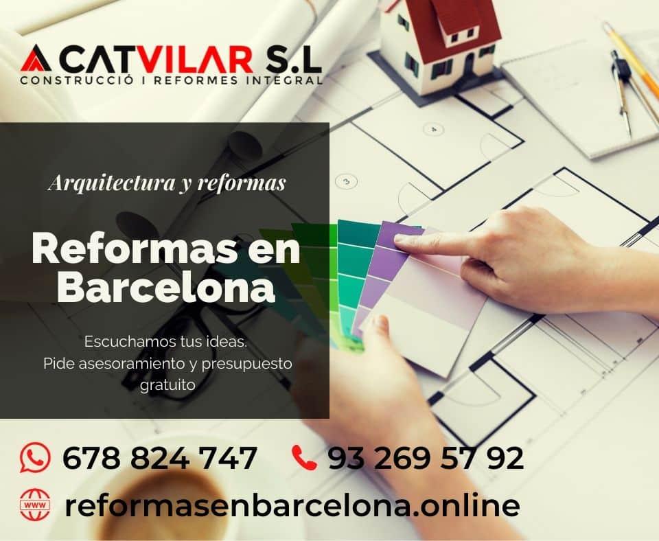 Reformas en Barcelona profesionales